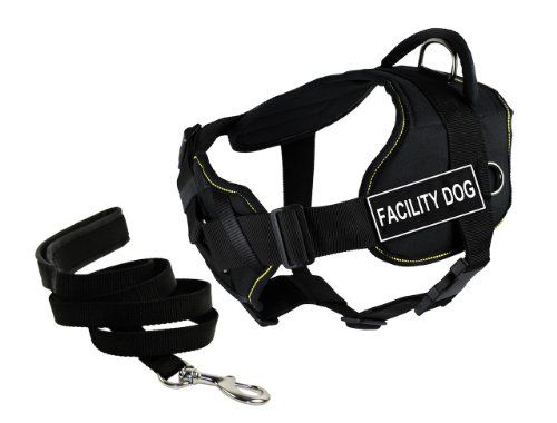 Dean  Tylers DT Fun Chest Support FACILITY DOG  Harness Small with 6 ft Padded Puppy Leash *** Check out this great product.Note:It is affiliate link to Amazon.