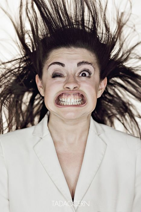 Hilarious Portraits of Faces Being Blasted by Air -Tadeo Cern. Died laughing!!