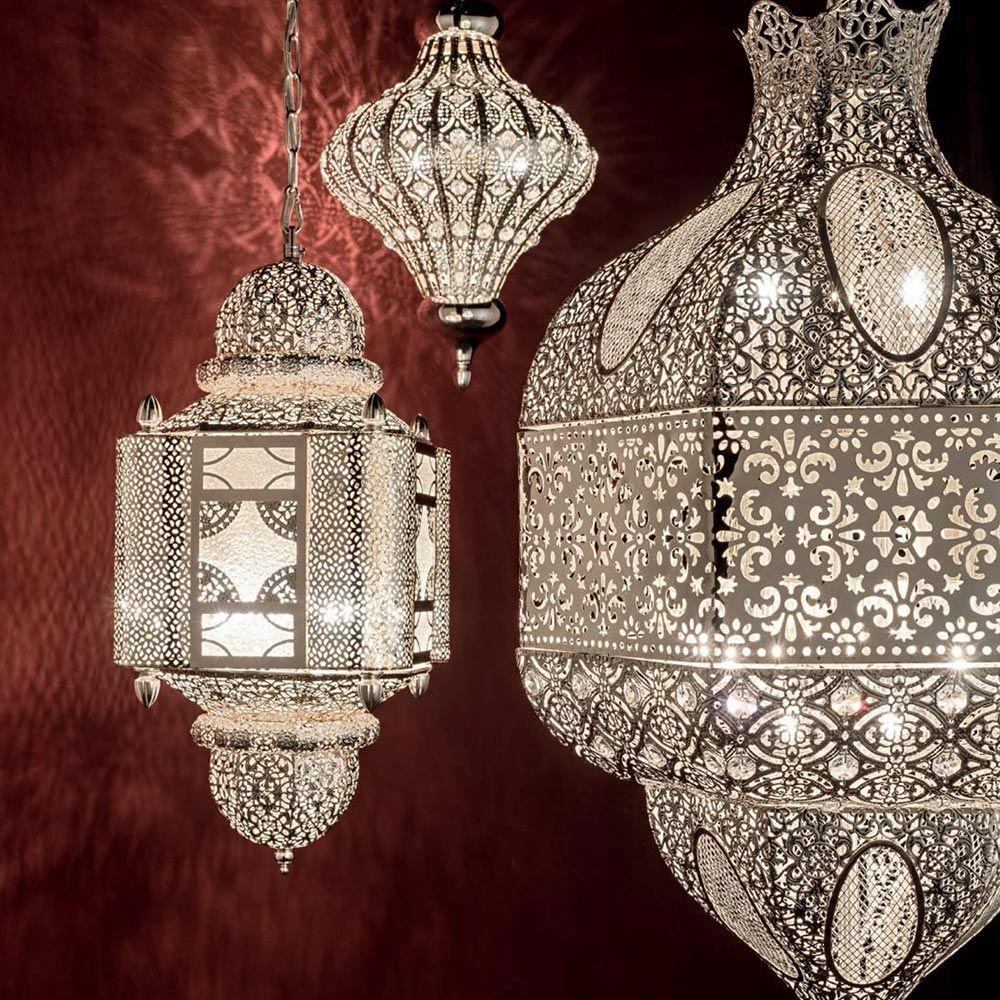 Die orientalische Hängeleuchte von Ideal Lux ist ein