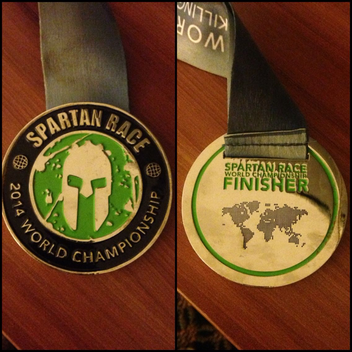 Spartan world championship finisher