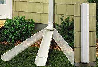 Best Gutter Downspout Extensions Weather Proofing Ventilation Skylights Storm Damage Repair