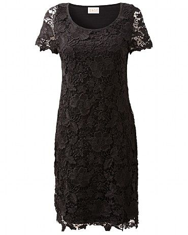 Lace Dress Lace dresses are a must have style staple for every lady's wardrobe. Our elegant Lace Dress features stunning embroidery and has been designed in a timeless flattering silhouette. Perfect for evening and occasions. Simply accessorise with our Adita Ornate Long Pendant to complete the look.