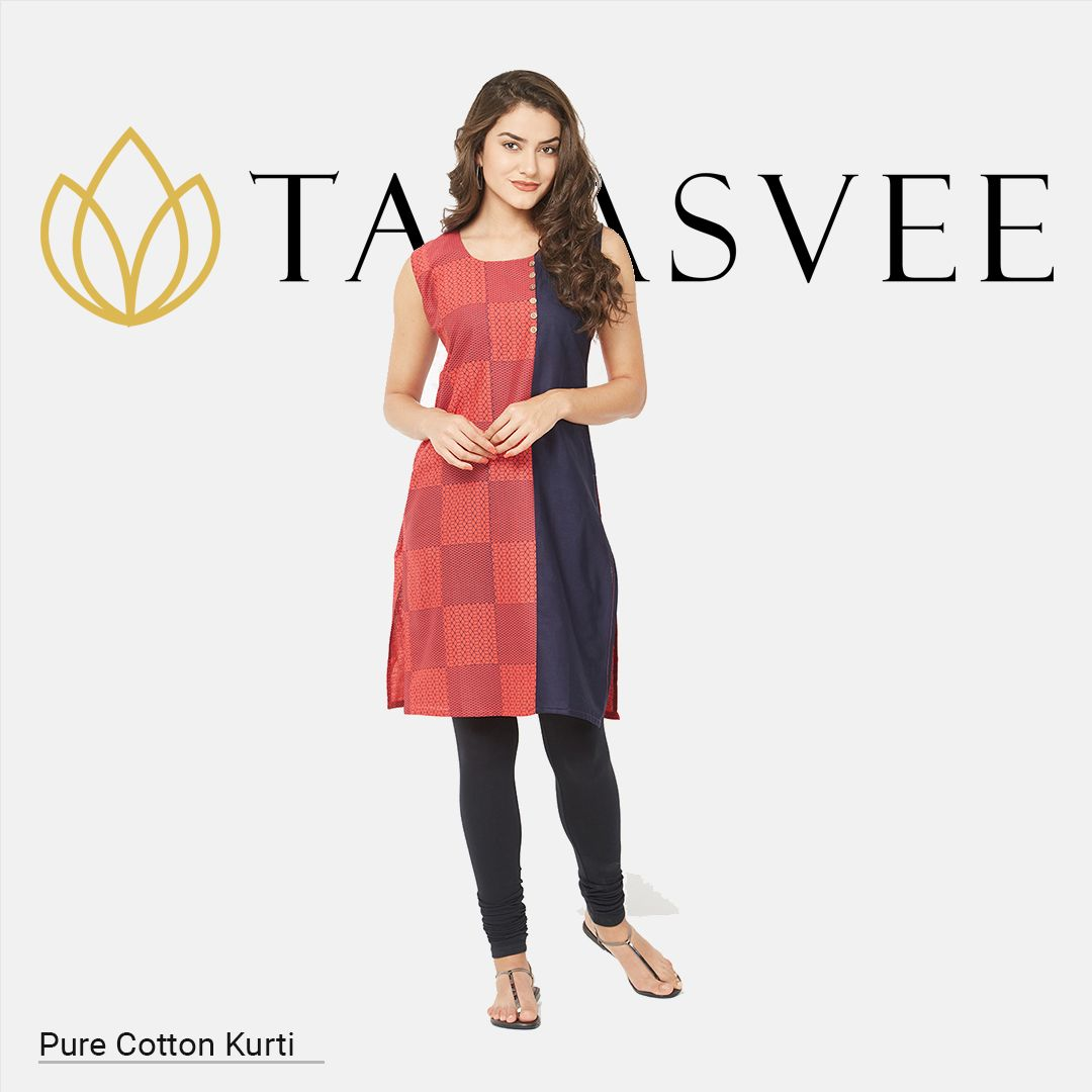 Add some fund to your ensemble with this trendy kurta get trendier