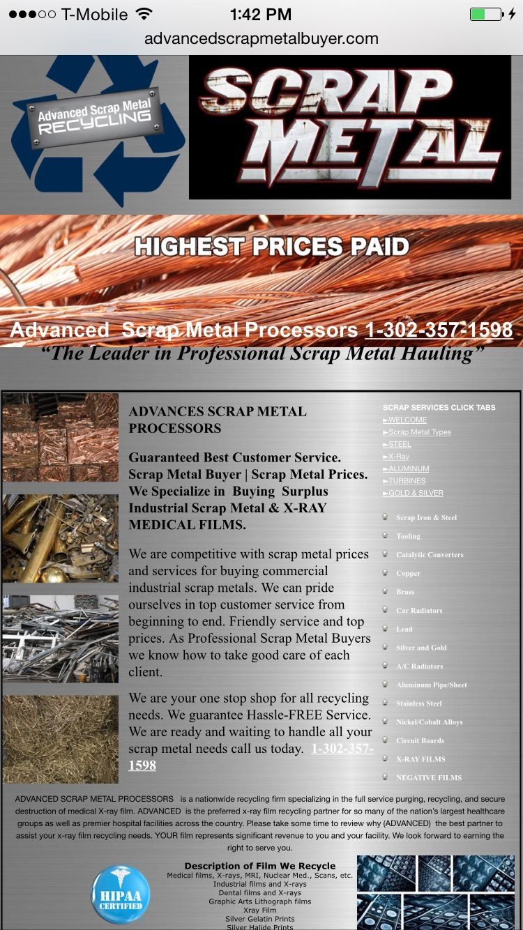 We buy all types of Scrap metal copper aluminum stainless wire and ...