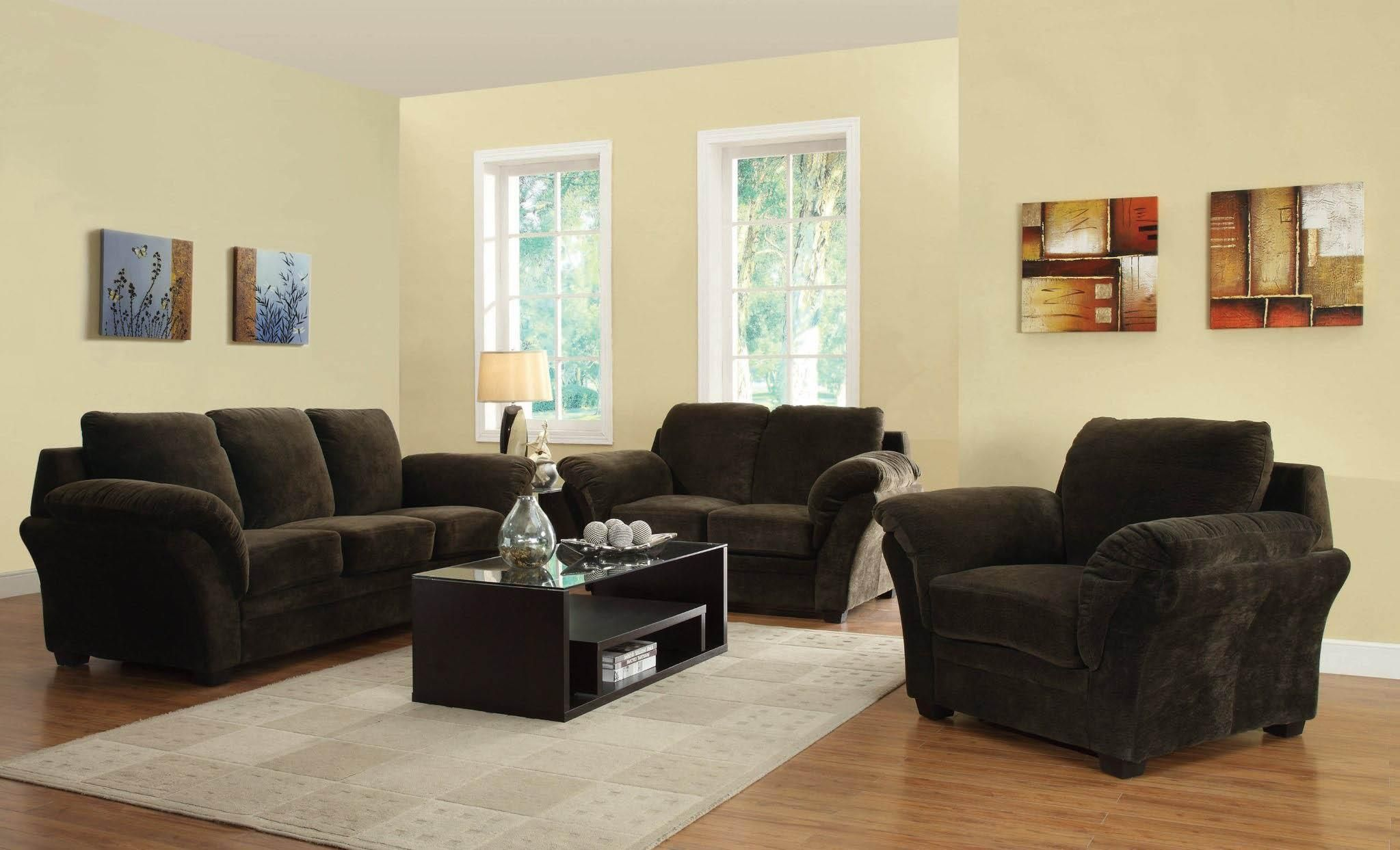 503221set Silas Casual Sofa With Knife Edged Cushions And Pillow Arms Get Your Friends Discount Furniture Living Room Sets 3 Piece Living Room Set