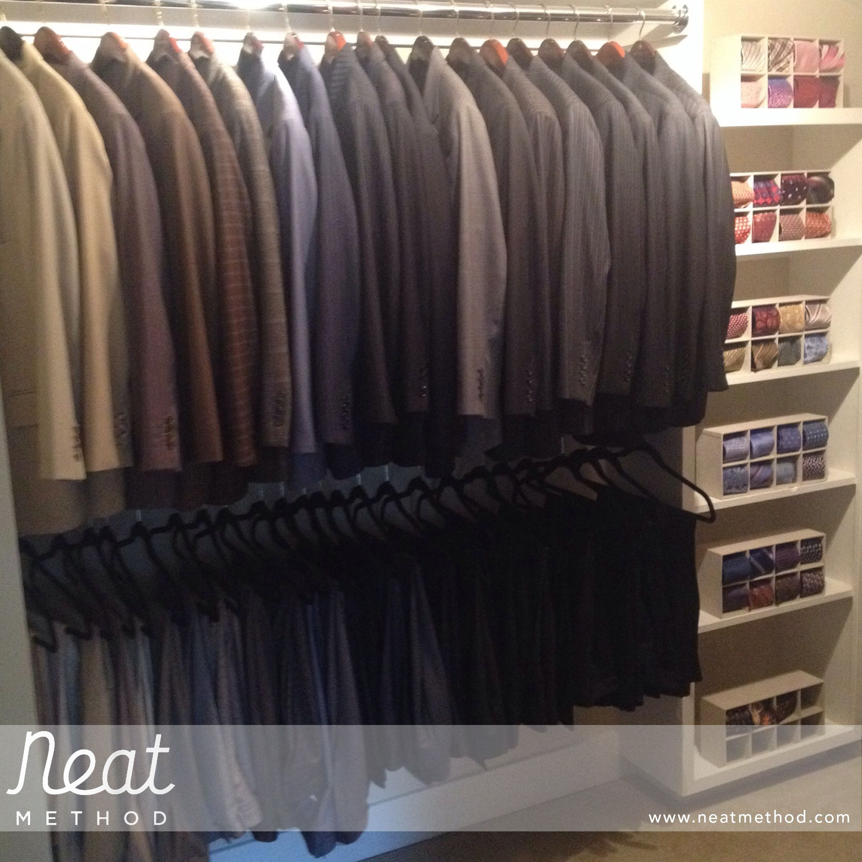 Neat Method, Organized Closet, Organizing, Professional Organizer, Closet  Organizing, Closet Organizer