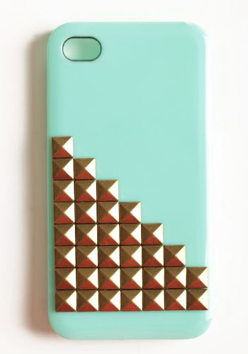 Studly Mint iPhone Case #threadsence #fashion