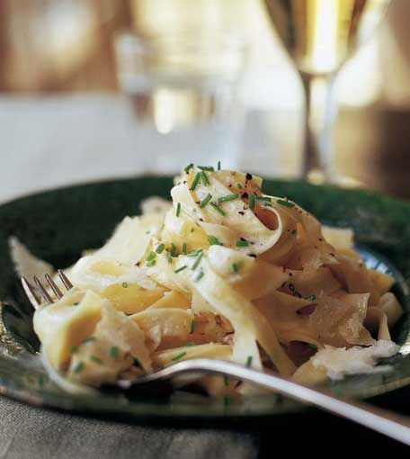 This Tagliarelle With Truffle Butter From Ina Garten Can