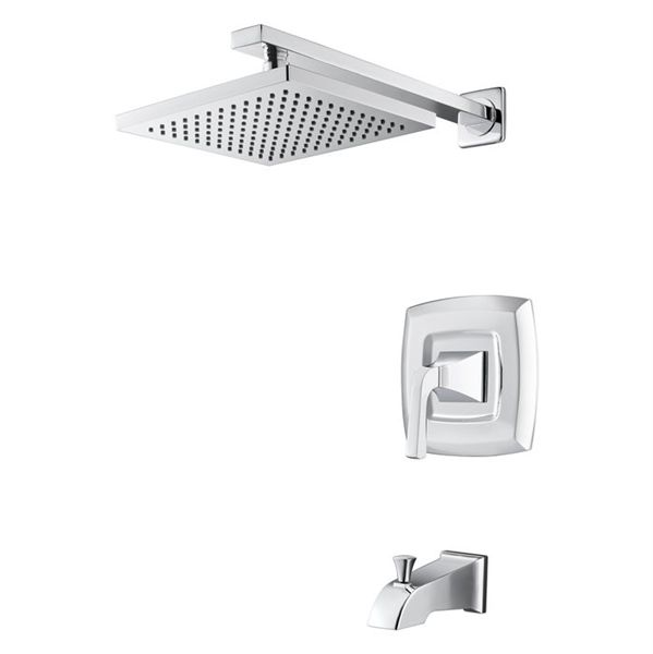 Pfister Verona Polished Chrome 1 Handle Tub And Shower Faucet With