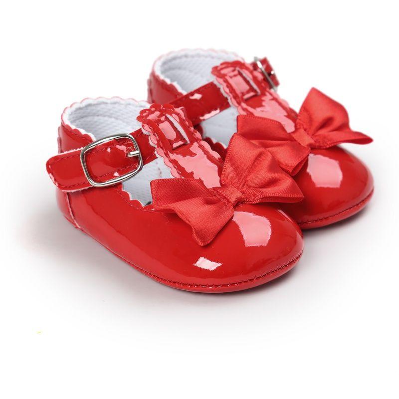2017 Moda Dla Dzieci Dziewczyny Noworodkow Buty Pu Skorzane Buty Antyposlizgowe Buty Prewalkers Soft Baby Girl Shoes Baby Shoes Baby Shoes Newborn