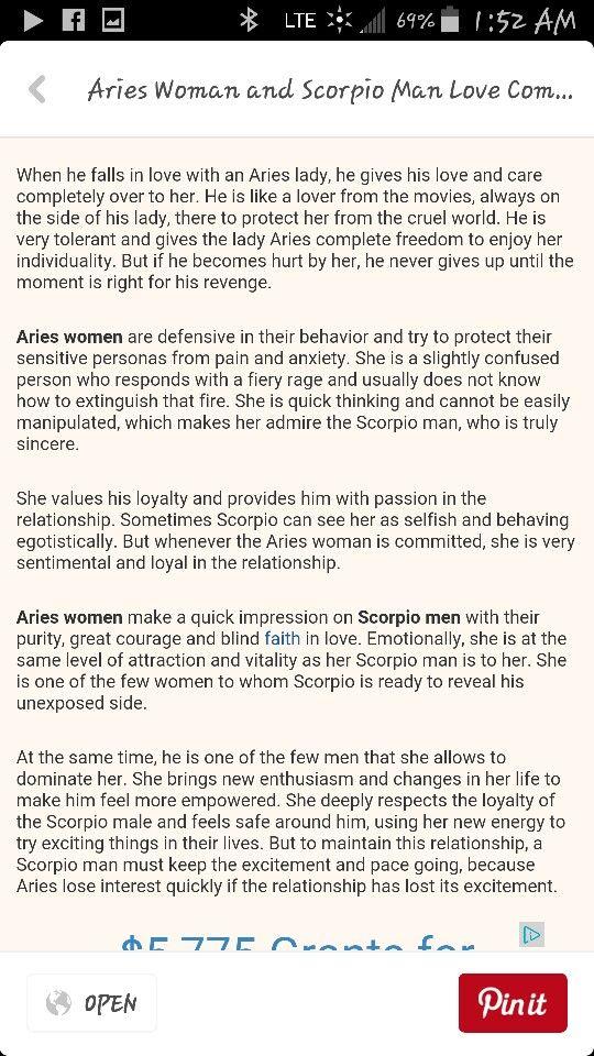 Falling scorpio in love man 6 Signs
