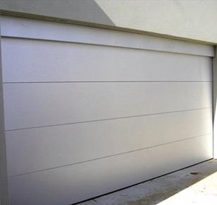 Surfmist Flatline Garage Door Garage Doors Garage Modern Exterior