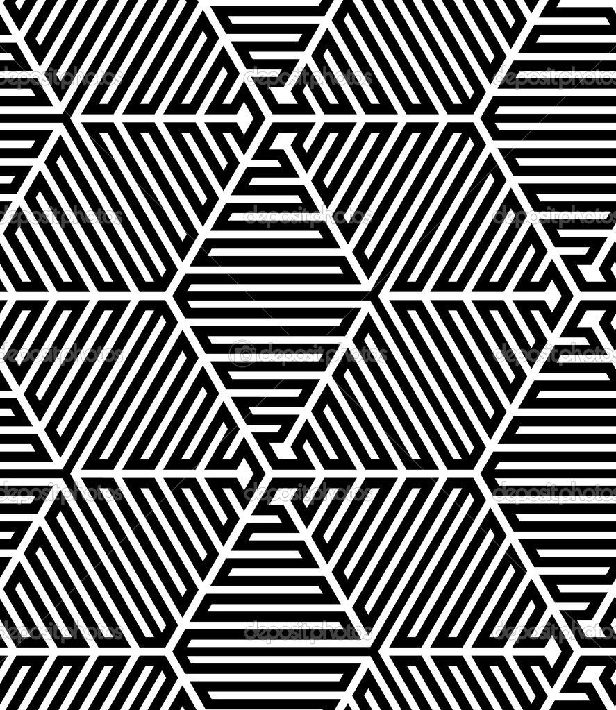 Op Art Designs : Depositphotos black and white op art design