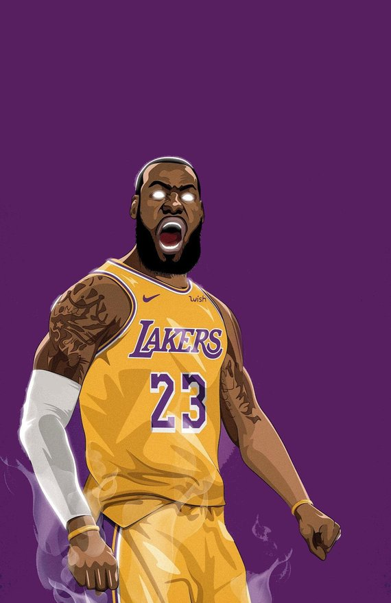 80b53df2a Lakers Lebron James Shine Poster or Canvas | Products | Nba lebron ...