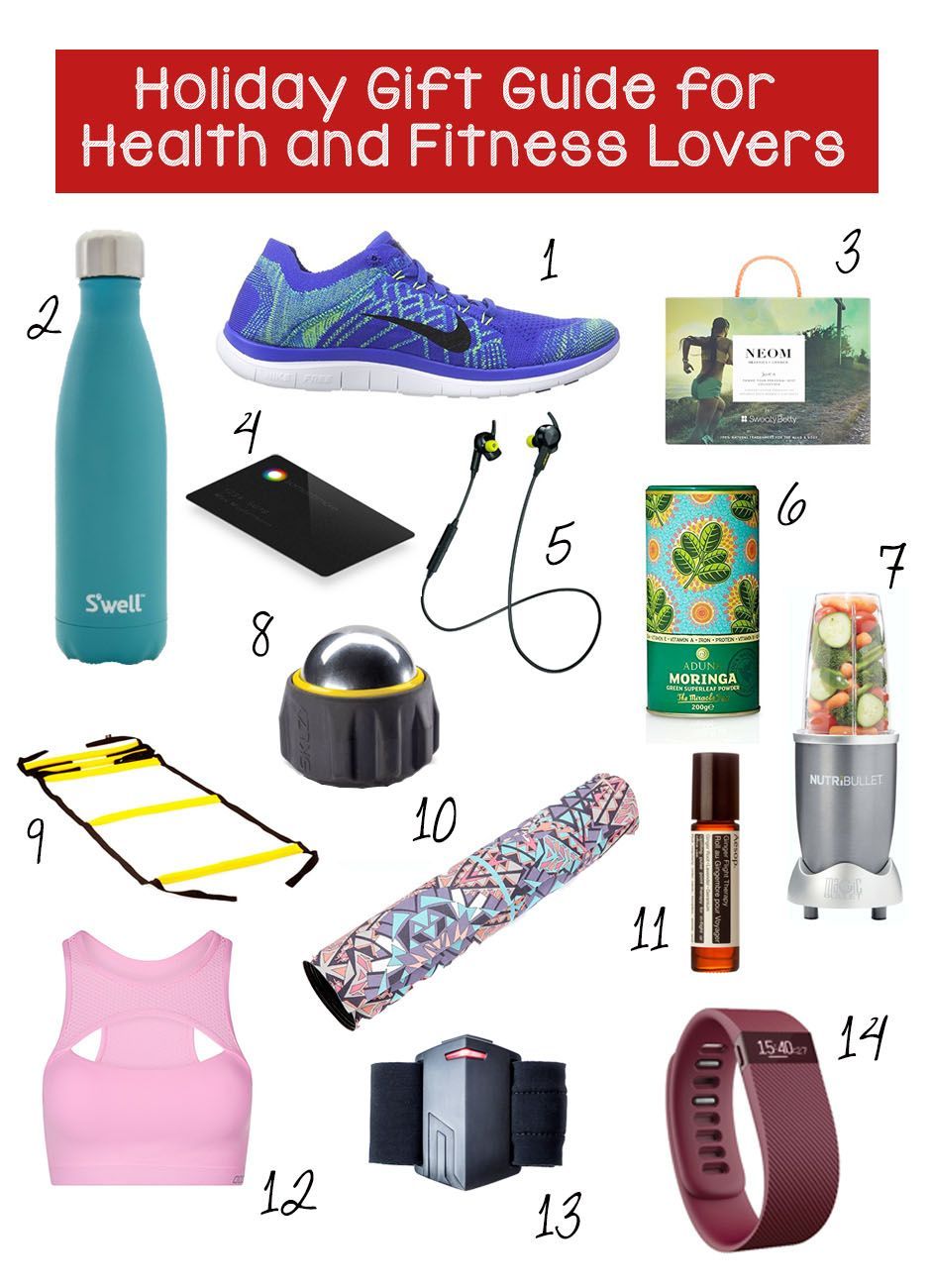The Ultimate Holiday Gift Guide For Health And Fitness Lovers – Train Hard Live Clean
