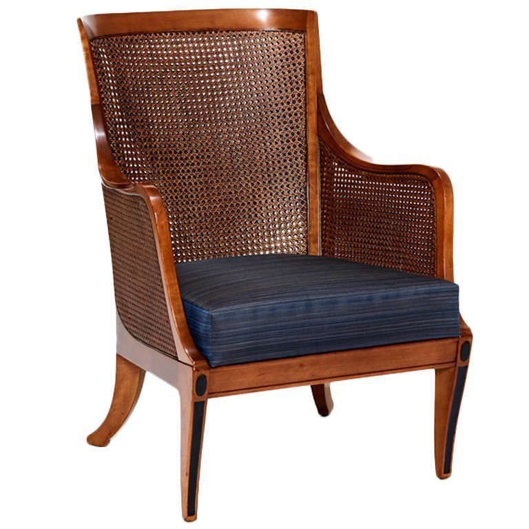30 Antique Cane Chairs Design Ideas With French Style Armchair