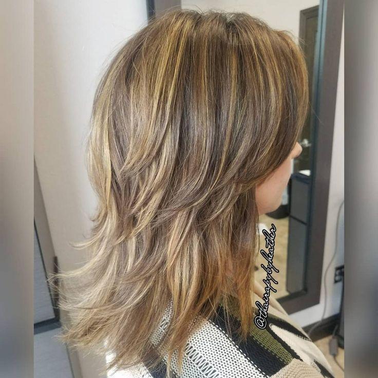 61 Chic Medium Shag Haircuts Chic Haircuts Medium Shag Haarschnitt Lange Haare Shag Frisuren Haarschnitt
