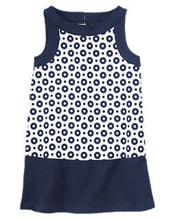 Dots Ponte Shift Dress