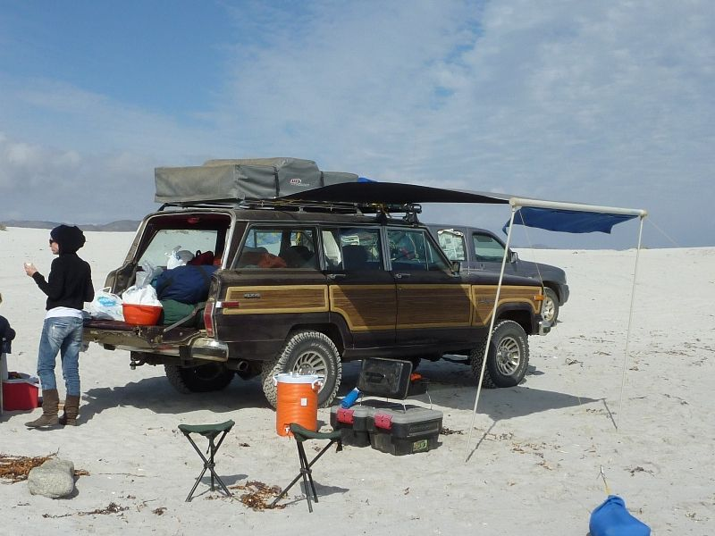 Preparing the Grand Wagoneer, 1 week camping trip