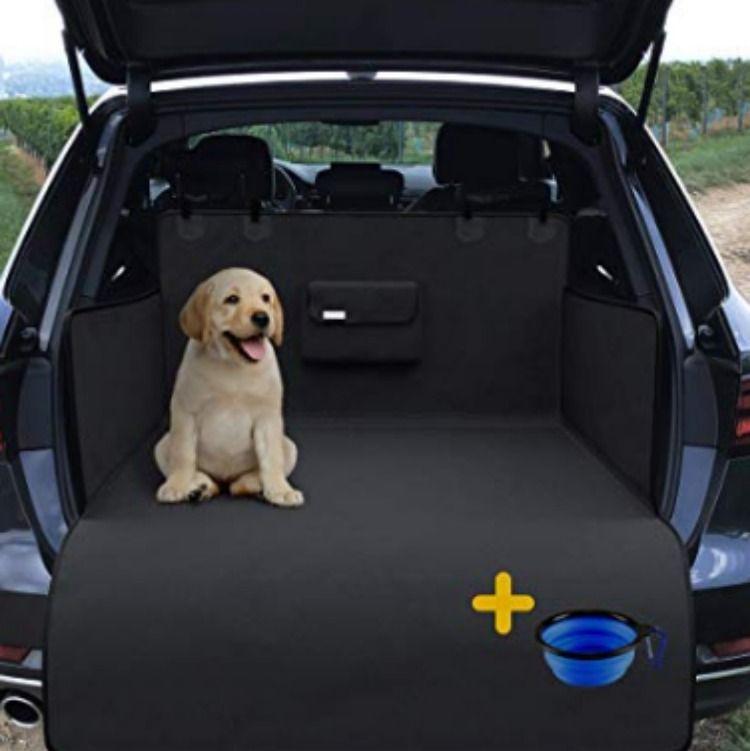 Waterproof Pet Seat Cover /& BONUS Floor Mat Liner Nonslip Travel Protector