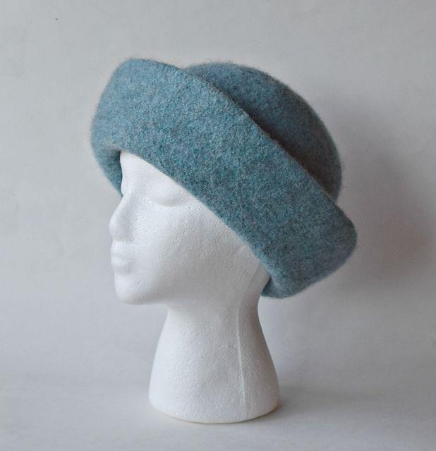 Breton Felted Hat pattern by Cindy Pilon | Knit Felt Hats ...