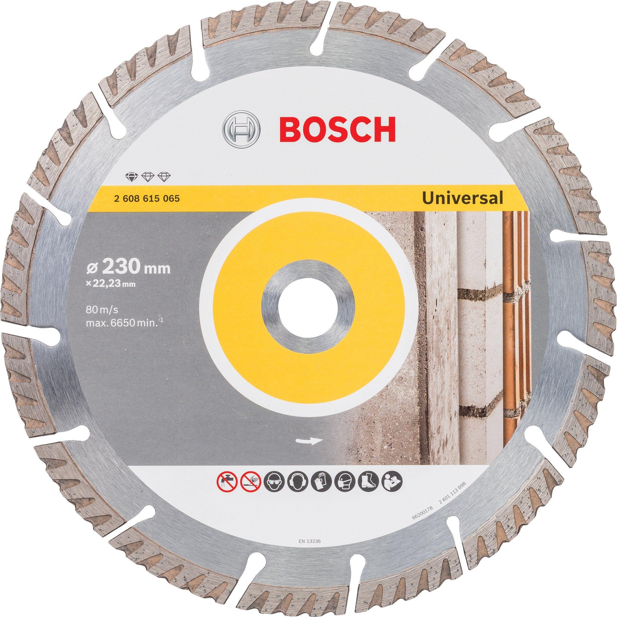 Disque Pour Multimatiere Bosch Professional Diam 230 X 2 6 X 22 23 Mm 26086150 Diamant Disque Bosch
