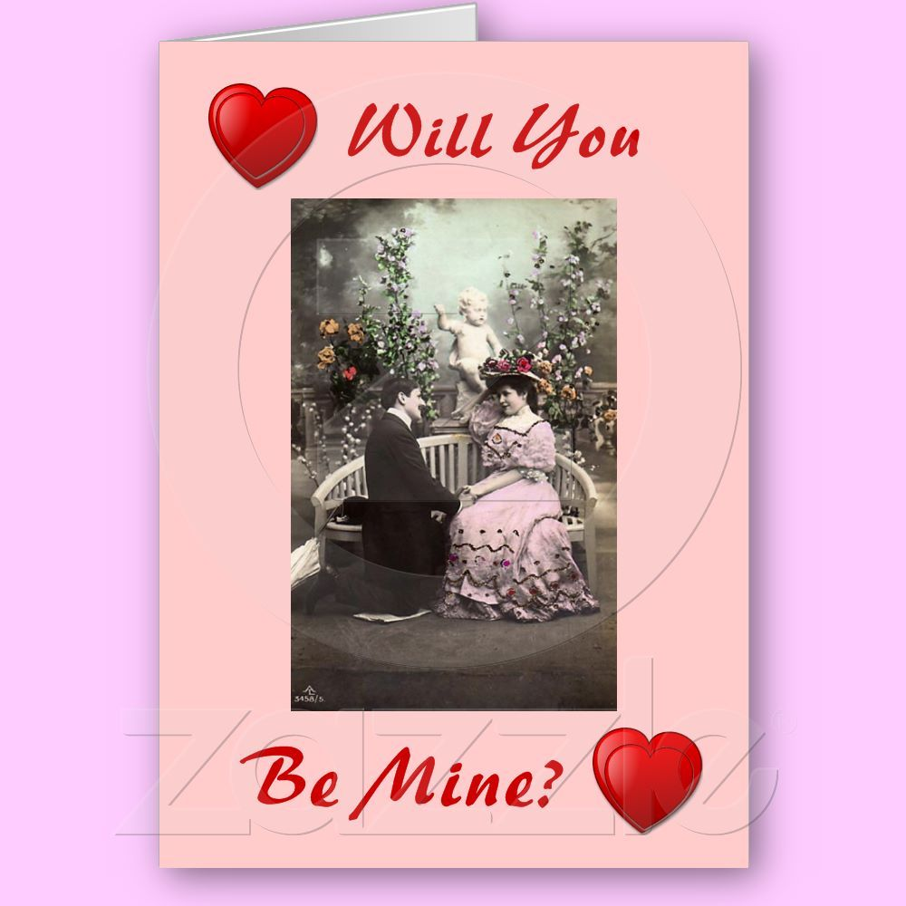 Customizable vintage valentines greeting card from zazzle customizable vintage valentines greeting card from zazzle valentine greetingcard vintage kristyandbryce Image collections