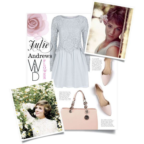 #CinemaIcons #JulieAndrews #WildFlower by sara-86 on Polyvore featuring See by Chloé, Journee Collection, MICHAEL Michael Kors and Accessorize