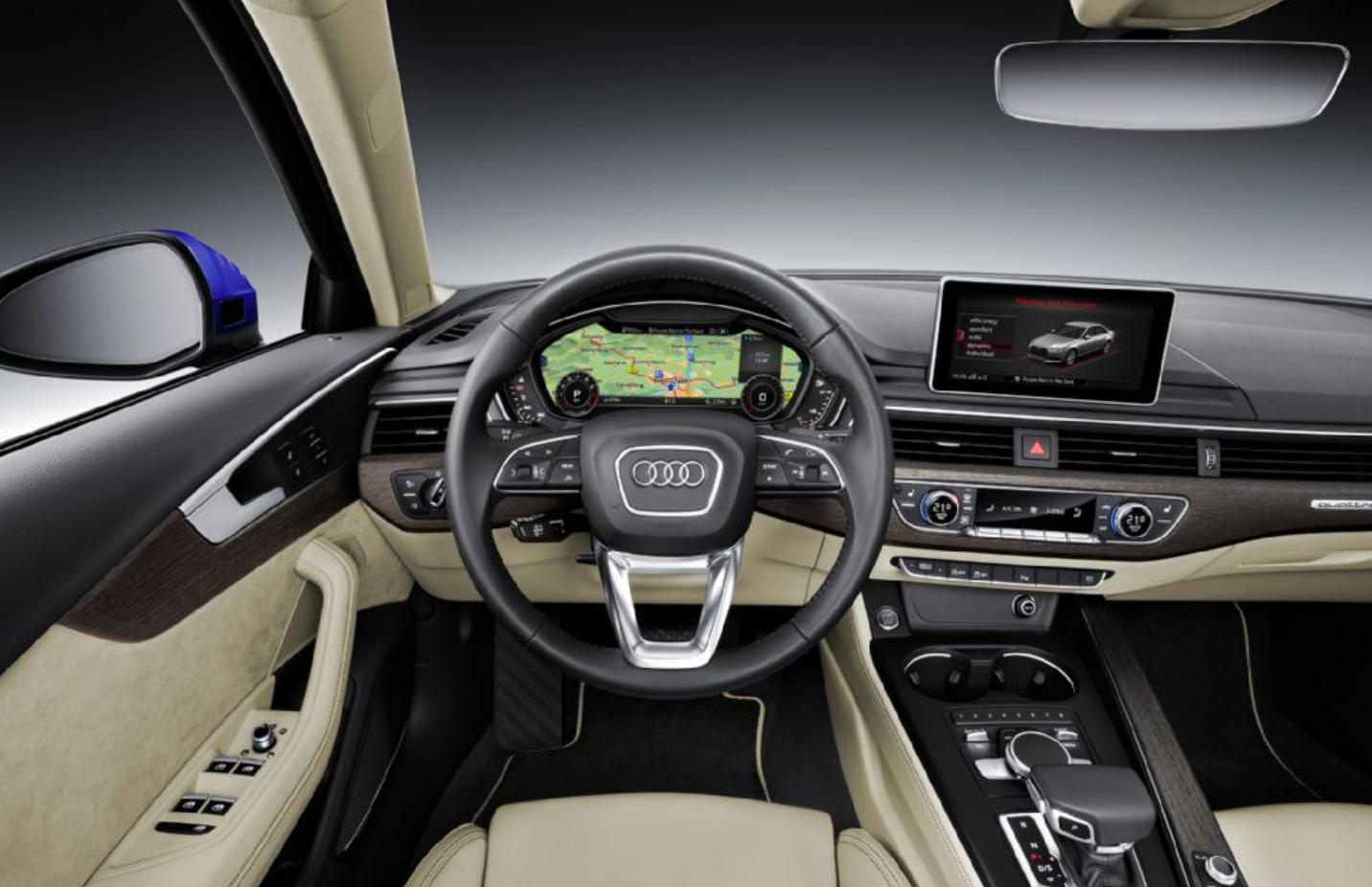 2017 Audi A4 Interior Audi A4 Audi A4 Avant Audi