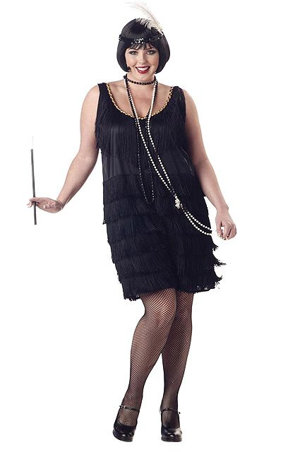 1892f3b116d ... plus size costume for you! Roaring Twenties Fashion. Roaring Twenties  Fashion Flapper ...