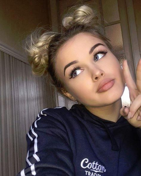 Schöne Frau Profilbilder