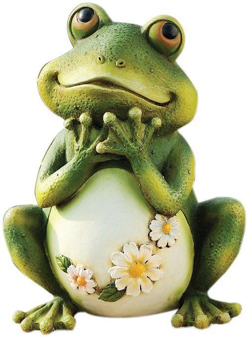 Joseph Studio 65904 Tall Frog Sitting Up Garden Statue, 9.5-Inch. http://amzn.to/1ULQBcU
