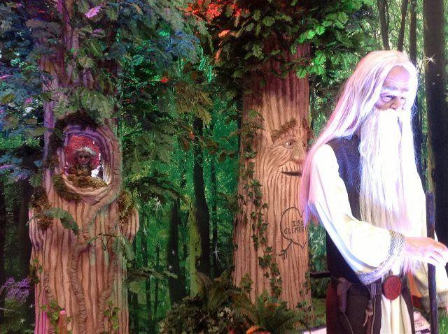 decoración fiestas bosque encantado - Buscar con Google