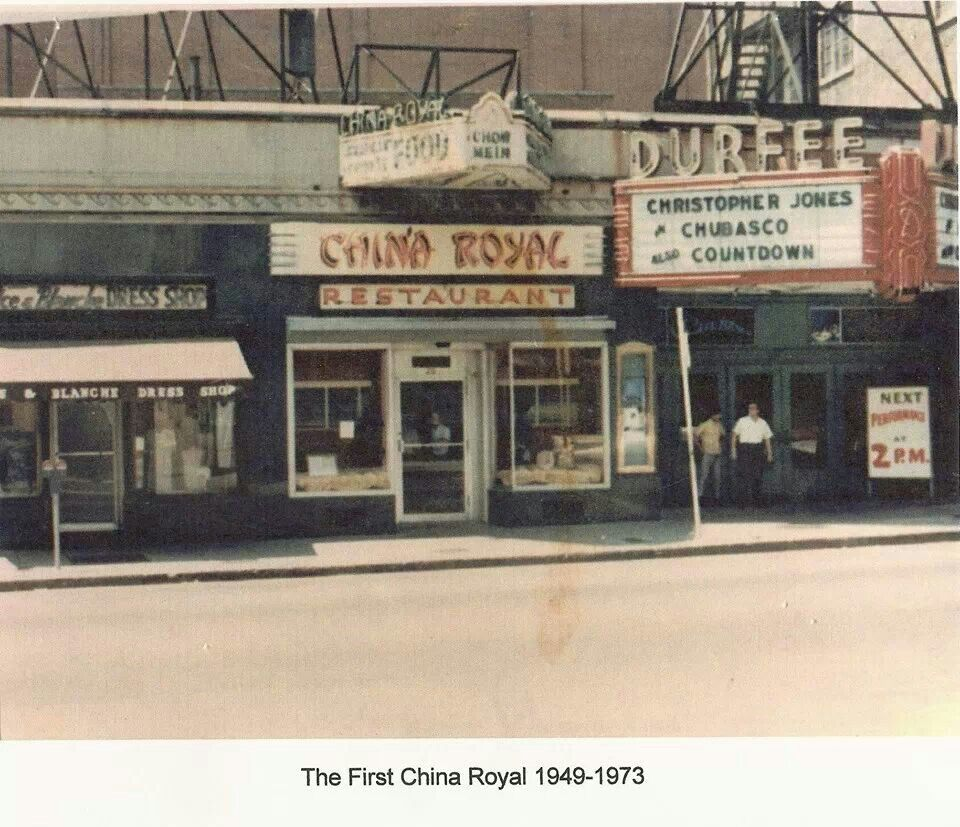 China Royal and Durfee Theater  Fall river massachusetts, Fall