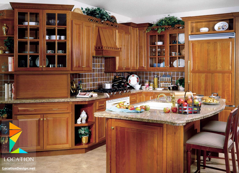مطابخ خشب صغيرة 2018 2019 لوكشين ديزين نت Kitchen Cabinet Styles Custom Wood Kitchen Cabinets Kitchen Remodel