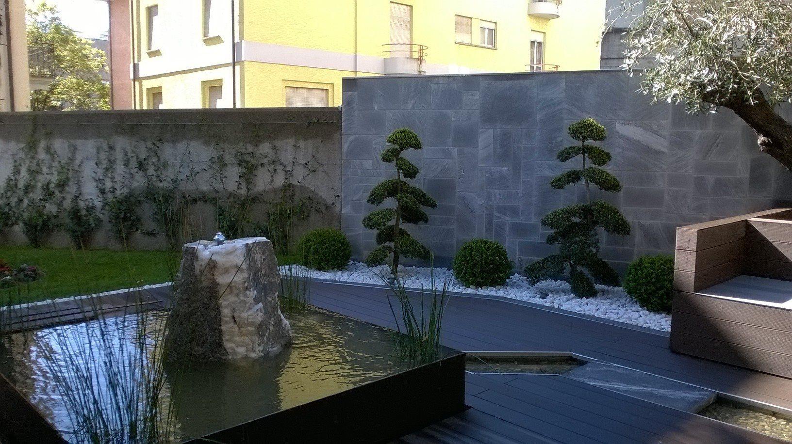 WPC Terrasse Pergola Sichtschutz Garten
