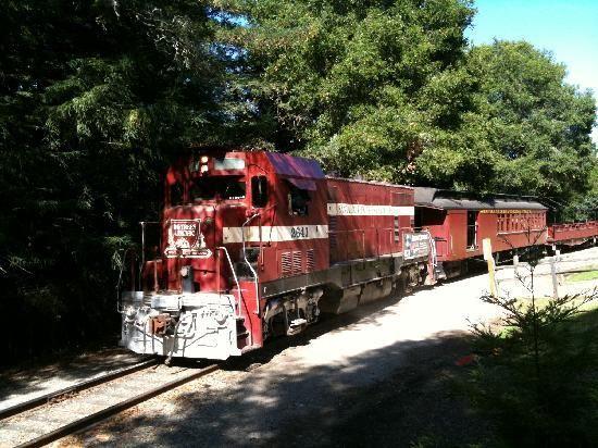 Santa Cruz Beach Train
