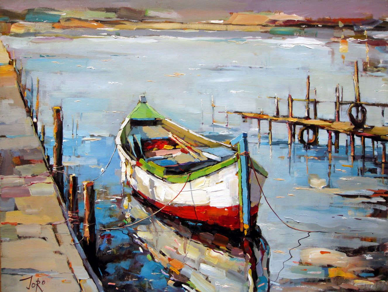 Georgi Kolarov Boat Art Fine Art Art Painting