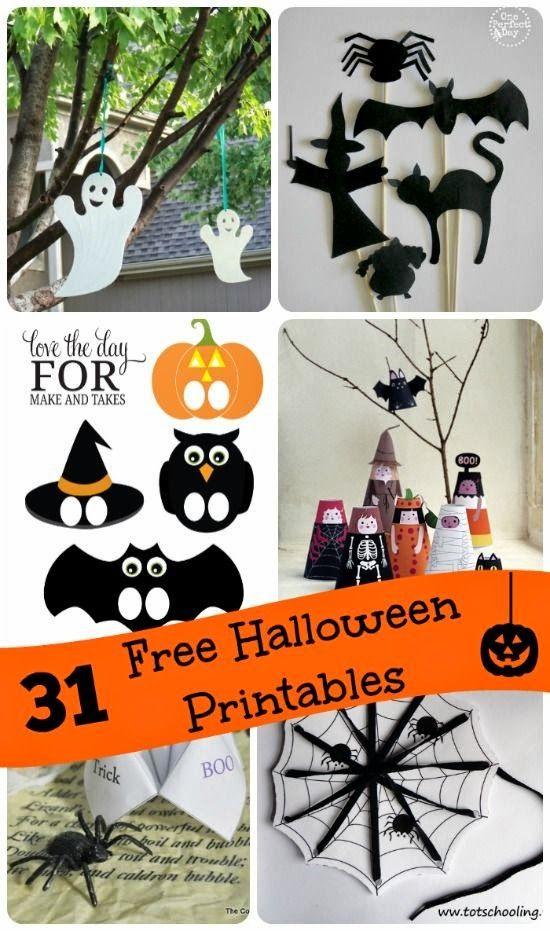 31 Awesome Halloween Printables DIY Pinterest Pumpkin carvings