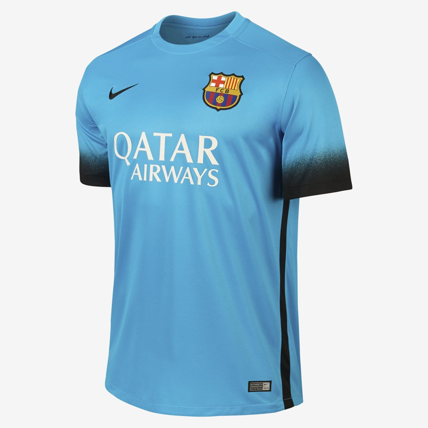 NIKE LIONEL MESSI FC BARCELONA THIRD NIGHT RISING JERSEY 2015 16 YOUR CLUB.  YOUR 60c2138529bf9