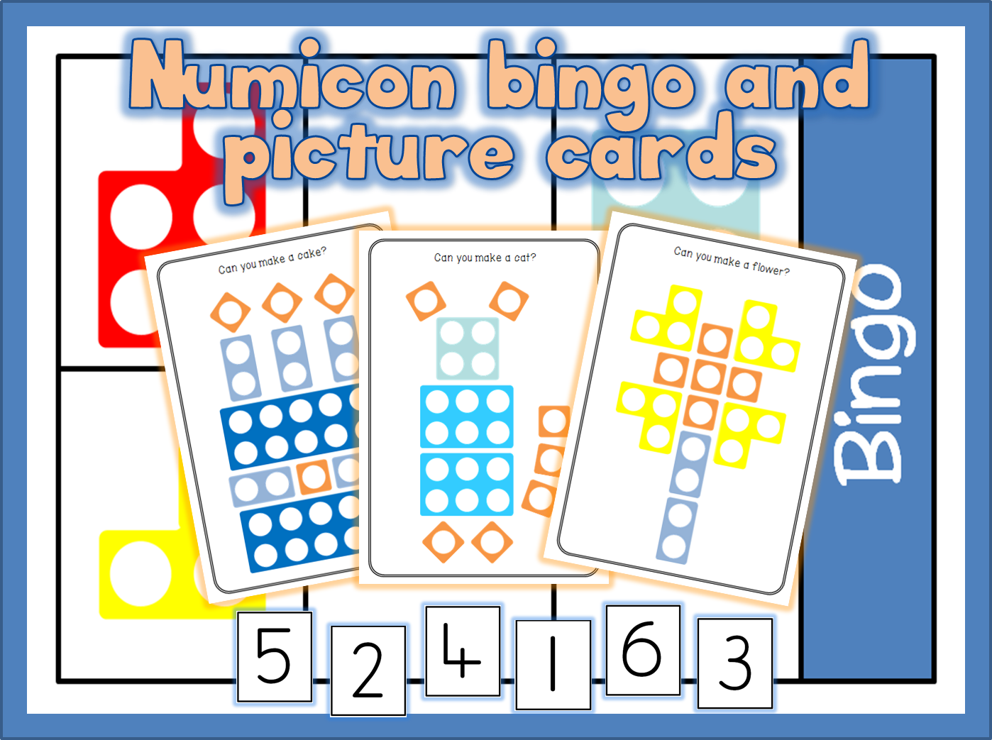 Number Fans And Also Numicon Dice 2d Shapes 3d Shapes