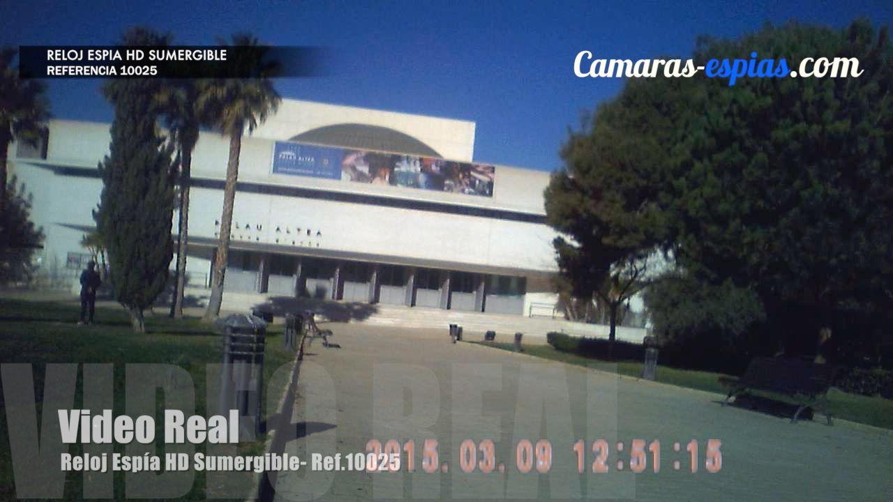 Video Real del Reloj Espía 10025