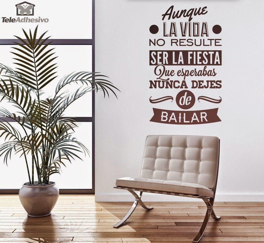 La mejor idea para decorar paredes Super Sorteo | Vinilos ...