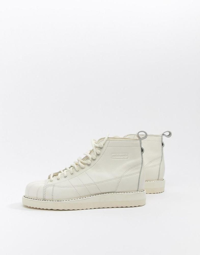 premium selection b3027 44861 NEW 2018 ADIDAS ORIGINALS SUPERSTAR BOOTS SNEAKERS IN OFF WHITE   Clothing,  Shoes   Accessories, Women s Shoes, Athletic Shoes   eBay!