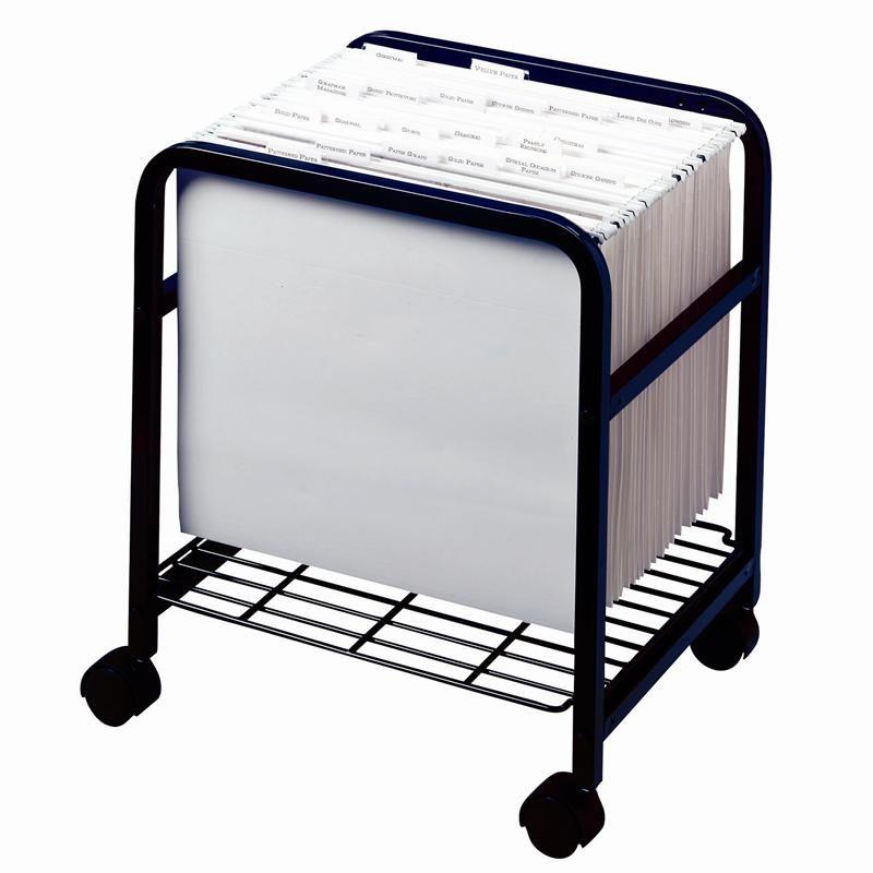 rolling file cart costco with locking lid ikea paper scrap storage cropper hopper folders