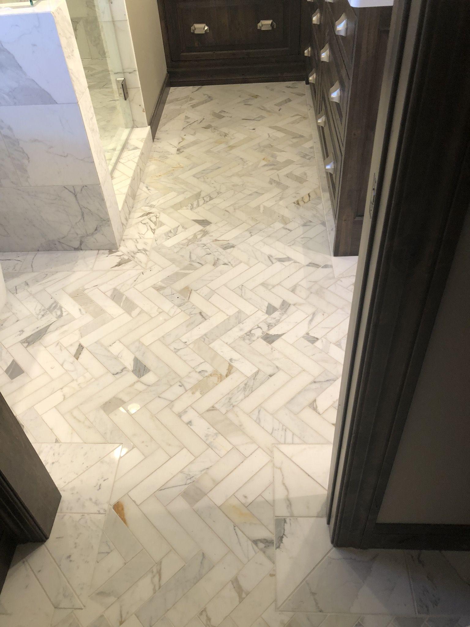 Marble Herringbone Bathroom Floor Design Calacatta Calcutta Gold Marb Calcutta Gold Marble Backsplash Arabesque Tile Bathroom Herringbone Tile Backsplash
