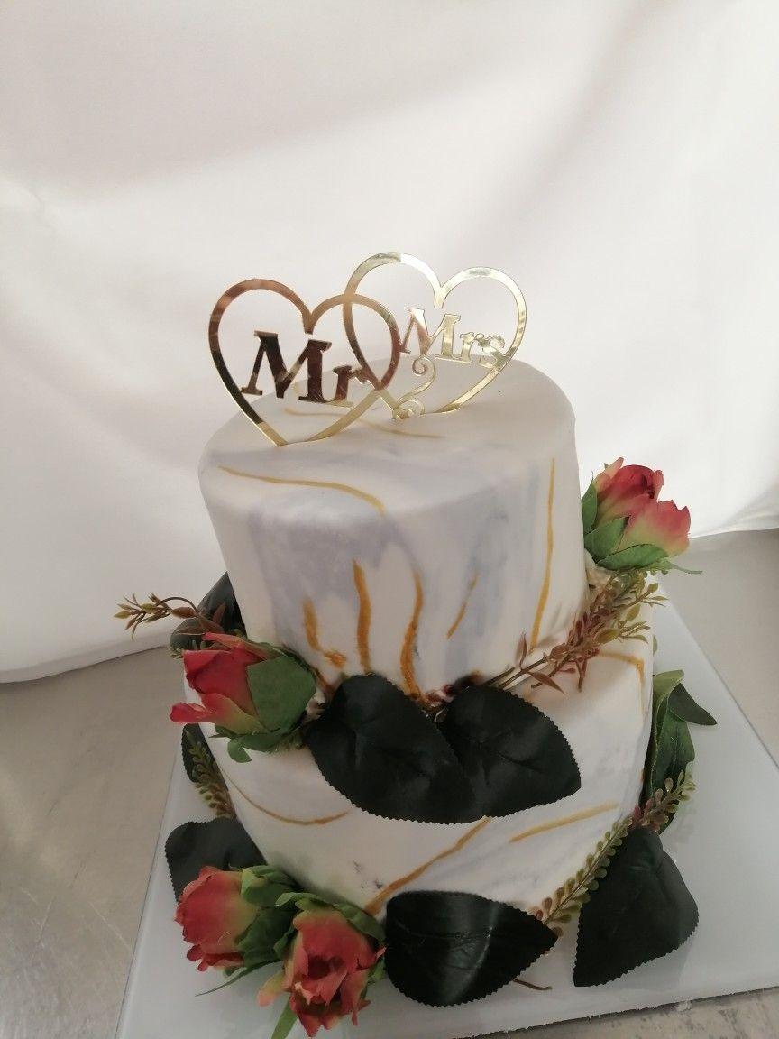 #weddingcake #romantic #madebyme