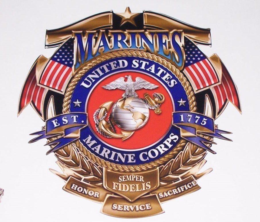 USMC Marine Corps Reserve Decal Sticker