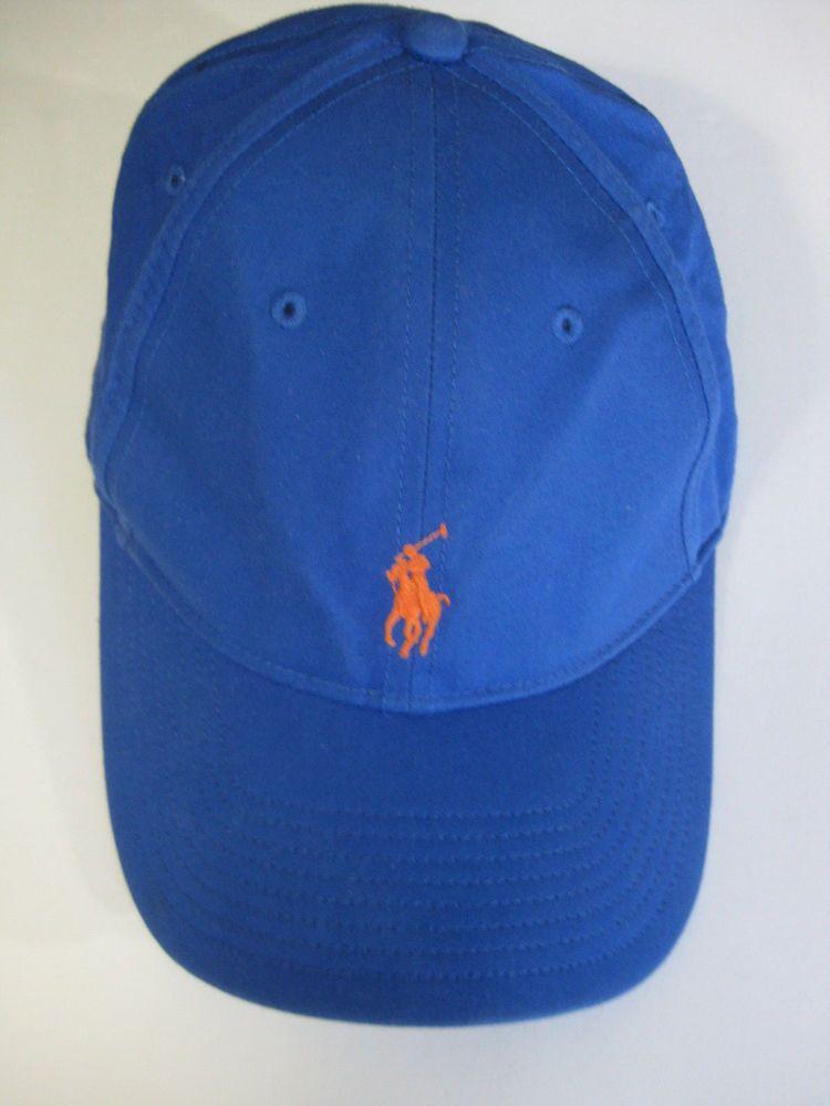 2a0efde06cd3a POLO Ralph Lauren Performance Baseball Style Hat Cap Blue   POLORalphLaurenPerformance  BaseballCap Ebay Listing