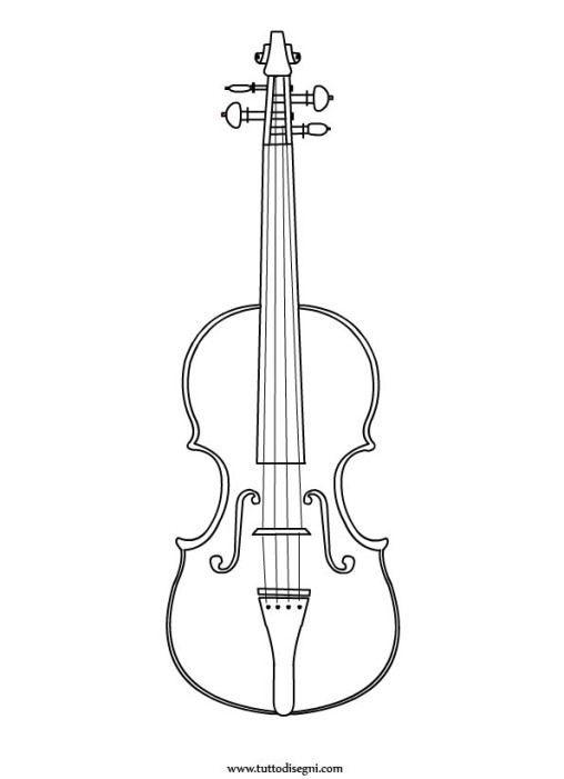 Violin 3 Desenho De Violino Arte Com Rabiscos Violino